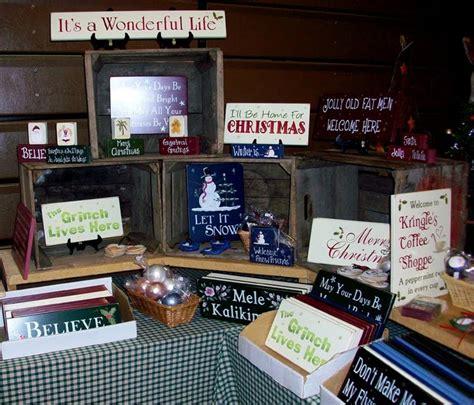 vendor table idea crates display ideas