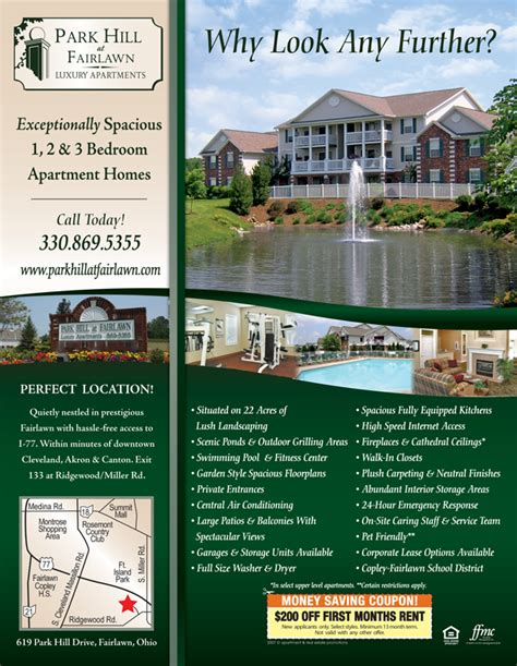 Apartment Flyer Sles Leasing Flyer Templates