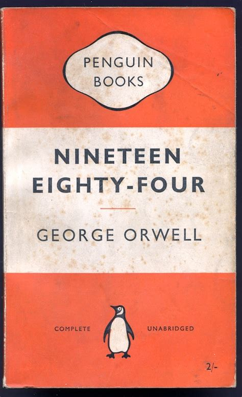 1984 nineteen eighty four penguin 97 first uk penguin paper back edition of george orwell s