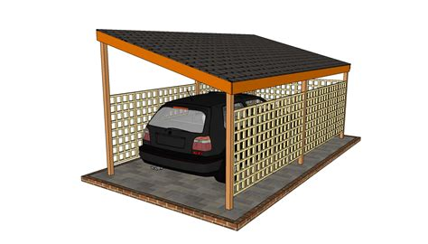 carport blueprints carport designs howtospecialist how to build step by