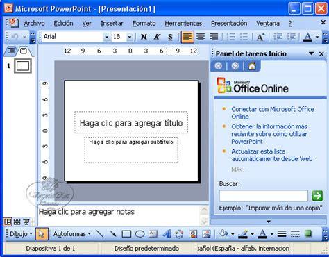 tutorial para hacer powerpoint 02 crear una presentaci 243 n power point