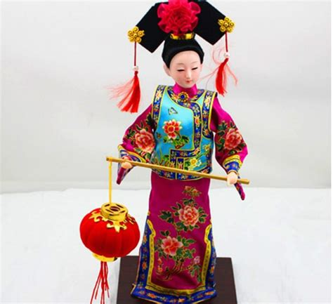 china doll delivery china s national doll the qing dynasty costume dolls