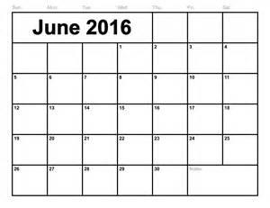 a4 calendar template june 2016 printable calendar landscape a4 portrait