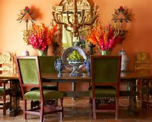 Southwest Home Interiors Decorating An Old World Style Dining Room