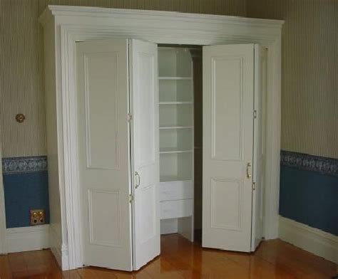 bedroom closet door ideas bi fold closet doors ideas