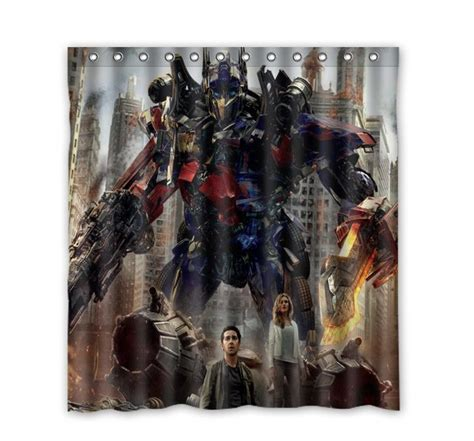 Transformer Bathroom Decor by 2015 New Customed Transformers Fashion Home Living Waterproof Bathroom Decor Shower Curtain