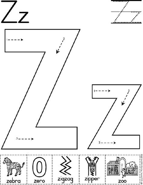 College With Letter Z Letter Z Worksheet School