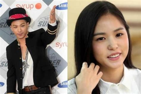 nb taeyang and min hyo rin are in a relationship spotted together bigbang singer taeyang and actress min hyo rin confirm