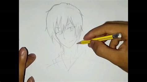 cool anime characters to draw how to draw cool anime character step by step