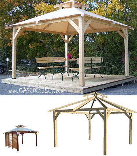 Kiosque De Jardin Moderne by Kiosque Bois Casedesiles