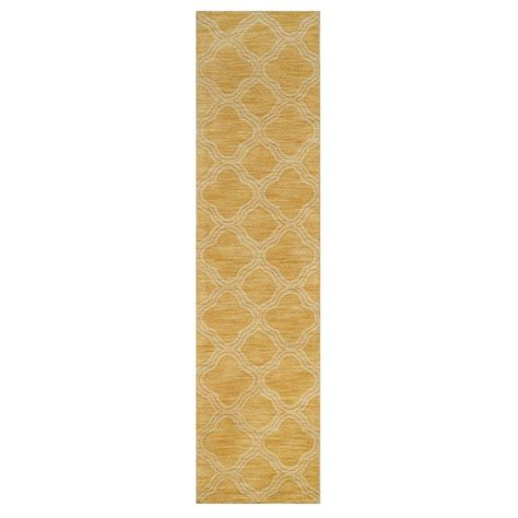 home depot rug runners home decorators collection morocco gold 2 ft 6 in x 10 ft rug runner 0481660530 the home depot