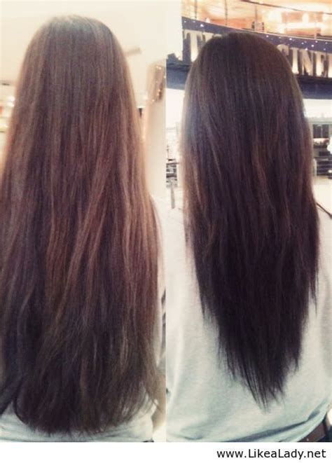 shaping long hair 1000 ideas about angled hair on pinterest short angled