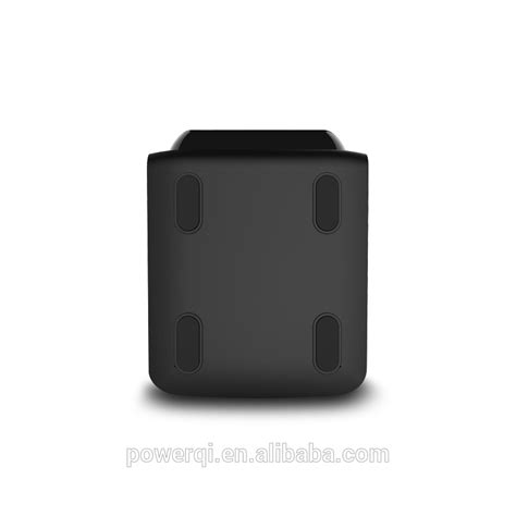 Wireless Charging Pad Powerqi T500 Black powerqi t900 3 coils wireless charger for blackberry z10