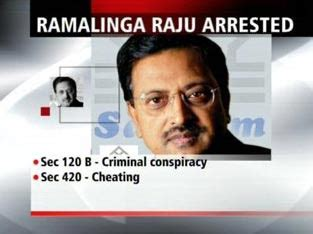 Ramalinga Raju Resignation Letter by True Colors Of India India In 2009