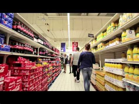 Lu Philips Led Di Carrefour philips led indoor positioning technology at carrefour