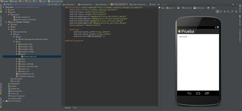 android studio layout options how can i switch to the graphic editor in android studio