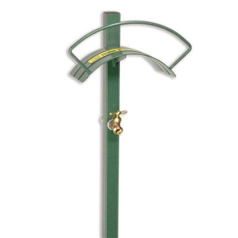 Faucet With Hose by Free Standing Hose Hanger With Faucet Yard Butler Store