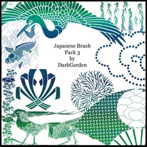 japanese pattern photoshop brush japanese brush pack 3 photoshop brushes