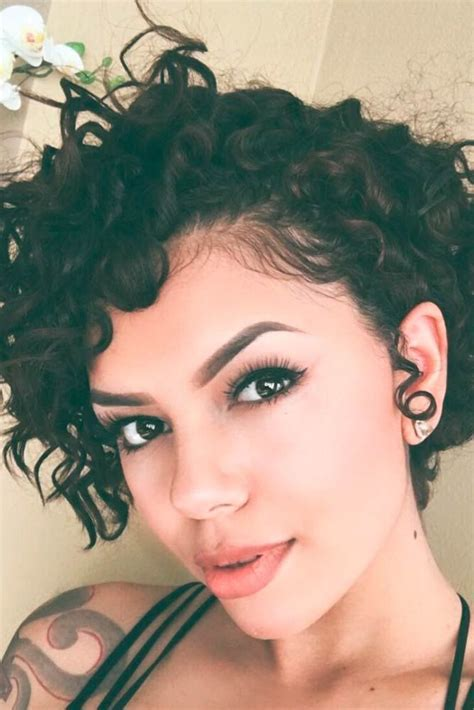 easy care permed hairstyles 25 best ideas about short curly hairstyles on pinterest