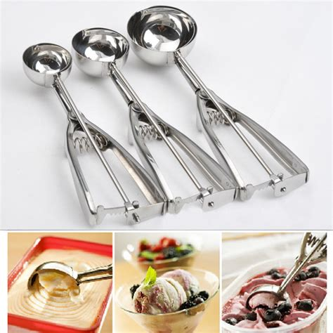 Scoop Stainless Steel 35 Cm High Quality high quality practical stainless steel scoop scoop cookie mash muffin spoon cooking