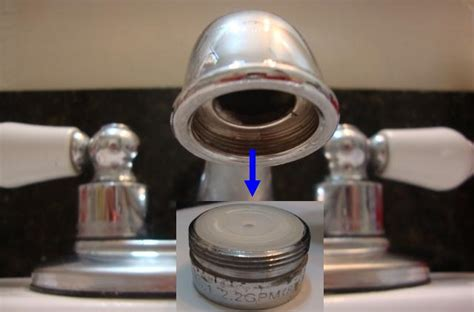 how to remove aerator from bathroom faucet 15 16 27 x 55 64 27 connection solid brass male x male
