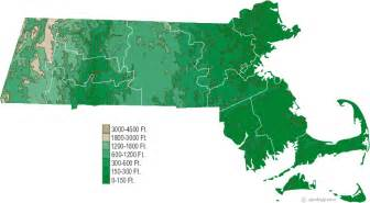 massachusetts map and massachusetts satellite images