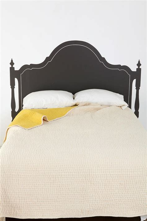 headboard sticker headboard wall decal vintage bed headboard wall sticker