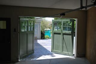 swing carriage garage doors traditional garage