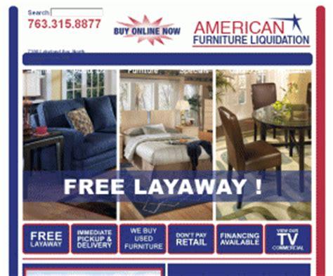 afl furniture american furniture liquidation in
