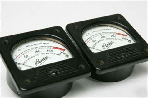 Ere Meter Analog 200 Ma Milli Milliere Panel Meters Analog