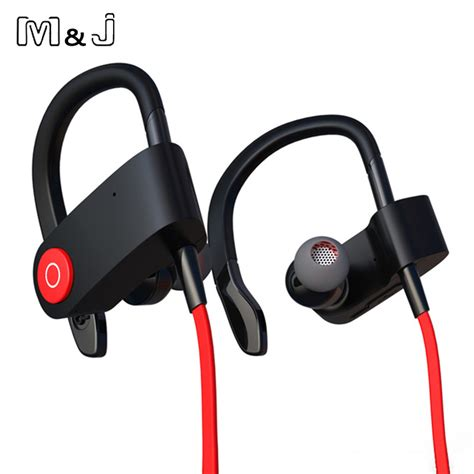 m j m333 new wireless bluetooth headset sports earphone binaural headset hanging ear