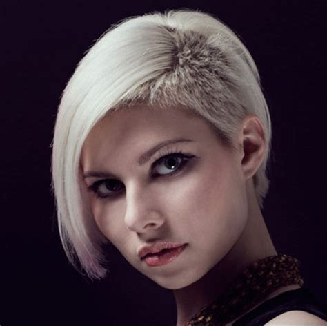 short edgy undercut hairstyles blonde short undercut hairstyle casual party summer