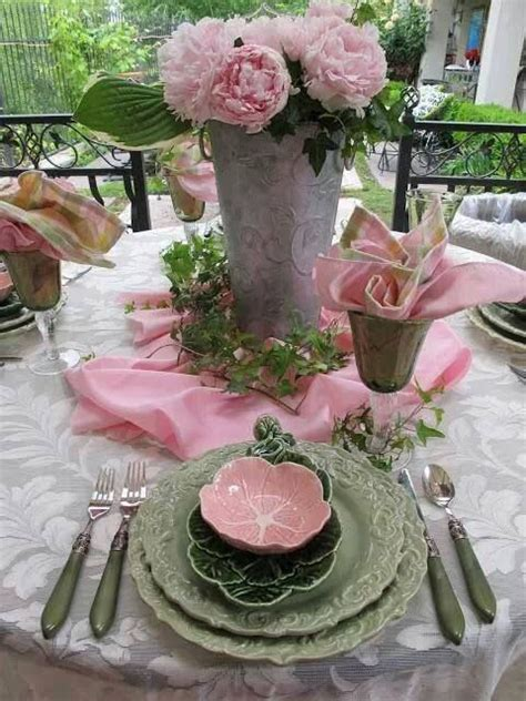 5283 Best Images About Decorating Table Settings Shabby Chic Table Settings