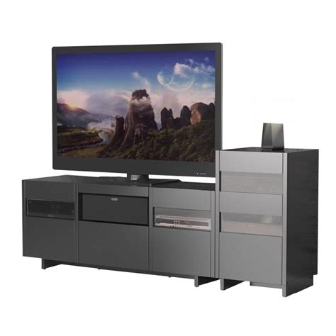 1 tower entertainment center in black 101406 102306 pkg