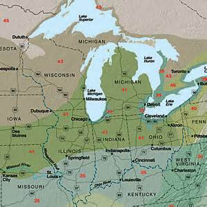 sunset climate zones great lakes sunset