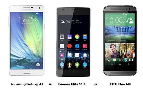 Samsung A7 Vs S5 Samsung Galaxy A7 Vs Gionee Elife S5 5 Vs Htc One M8