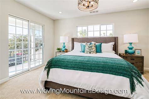 staging a bedroom home staging blog moving mountains design los angeles