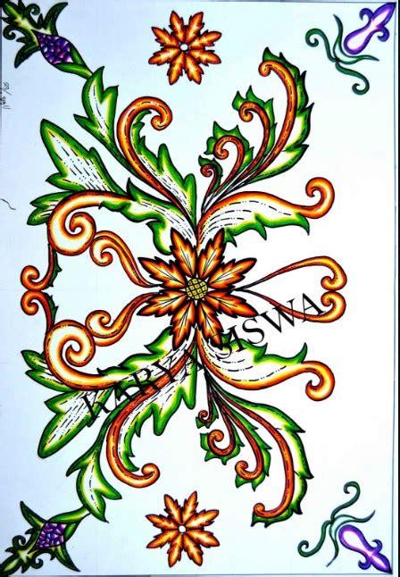 design batik bagus batik bunga yang keren dan motif batik bunga sederhana dan