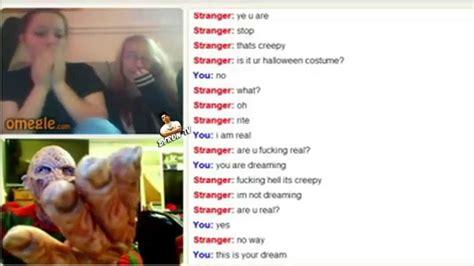 cam omegle freddy krueger messing around on omegle random webcam
