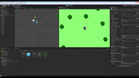 unity tutorial top down unity 2d top down rpg preview 1 youtube