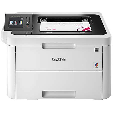 compact color laser printer compact wifi color printer office depot