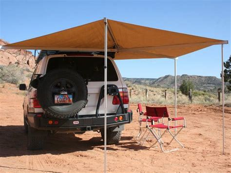 fold out awnings shelter while overlanding tracks4africa blog