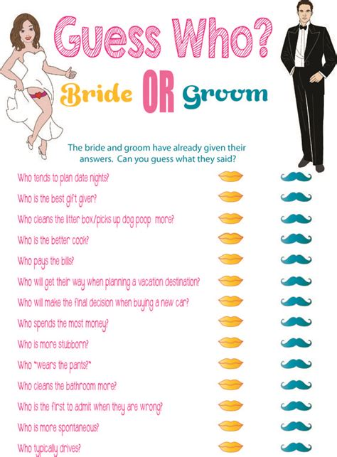 printable bridal shower game quot guess who quot printable