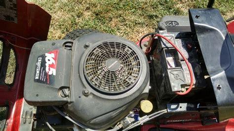 craftsman dlt lawn mower  hp honda engine nex tech classifieds