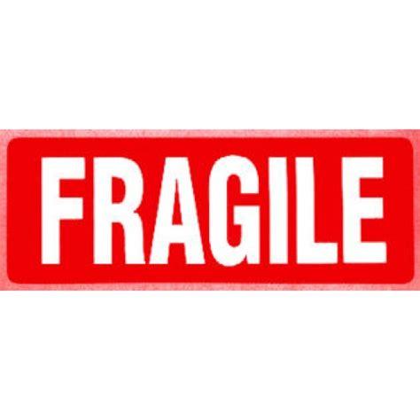 01 Fragile Sticker Label Stiker fragile mailing stickers kamos sticker