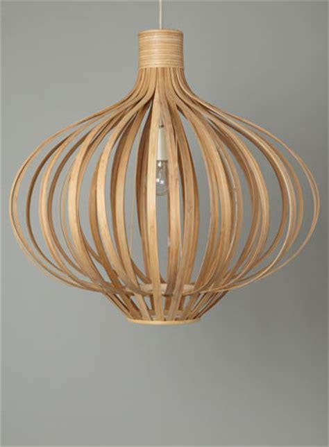 Bhs Pendant Light Wooden Light Fresh Design