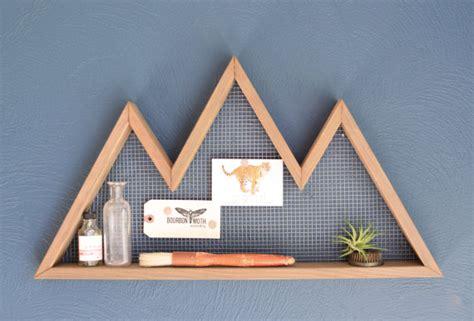 Mountain House Shelf mountain wall shelf mountain home decor wall hanging
