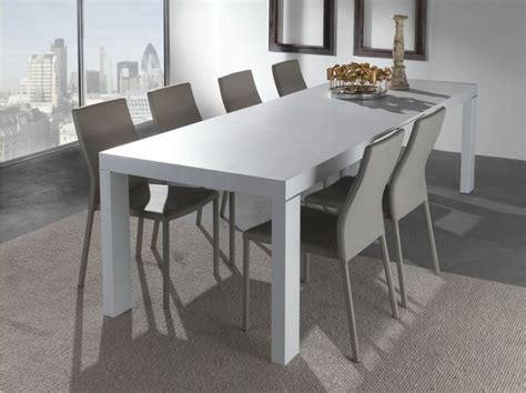 tavoli bianchi moderni tavolo wind 627 tavoli moderni allungabili tavoli