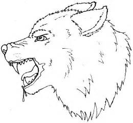 Outline of a wolf head new calendar template site
