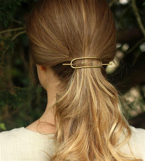 metal hair hammered metal barrette s accessories kapelika